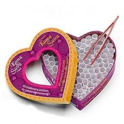 Moodz Corazón RománticoJuego de pareja con 69 posturas desafiantes para momentos llenos de pasión. Saca tu lado mas atrevido Corazón Kamasutra