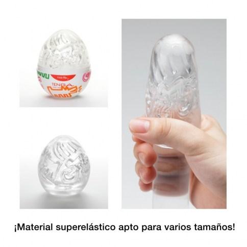 . Tenga Huevo masturbador tenga edición especial diseñada por Keith Haring. Formato transparentes, para ver y notar las formas. Tenga Egg Keith Haring Street .