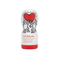 Tenga Edición Limitada del modelo de masturbador más vendido del mercado Garganta Profunda de la marca Tenga. Keith Haring OV Cup