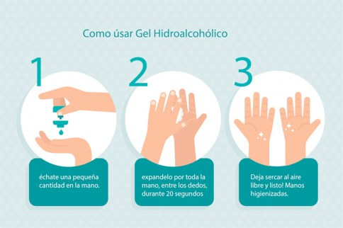 . Gel Hidroalcoholico 500 ml 0 .
