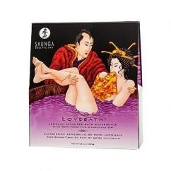 Shunga Producto para crear un gel de baño espumoso y agradable con propiedades curativas y terapéuticas. Aroma a Lotus Sensual. Love Bath Sensual Lotus