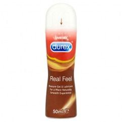 Durex Durex gel Real feel pleasure gel 50 ml es un lubricante sedoso con efecto calor al contacto. Real Feel Gel 50 ml