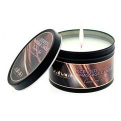 Zahara Vela masaje con un aroma dulce a Canela y Manzana que dejará tu piel suave y hidratada. Vela Manzana con Canela