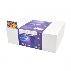 Manix Mates Condones Mates XL, preservativos más anchos y largos. Con forma acampanada. Tamaño grande, XL XL Grandes 144 uds
