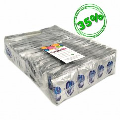 Manix Mates Preservativos extra resistentes, forma recta para mayor agarre, transparentes, extra-lubricados, para mayor disfrute. Protector 144 uds