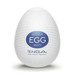 Tenga huevo masturbador masculino con un relieve interior de picos hacia afuera Tenga Egg Misty