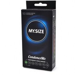 MySize Marca de preservativos My.Size, 47 diferentes tamaños para más seguridad . De forma recta, se adaptará a ti de forma única. Talla 47 caja 10 uds