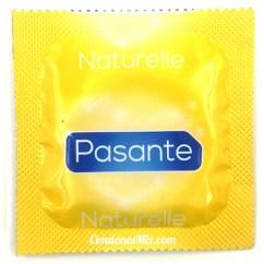 Pasante Preservativo con forma anatómica, natural, sin añadidos. El preservativo más natural. Natural
