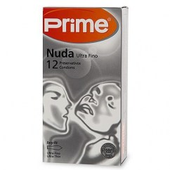 Prime Condones Prime Nuda, ligeramente mas anchos que los normales. Encuentra la confortabilidad. Tamaño XL, más grande. Condones Nuda Prime