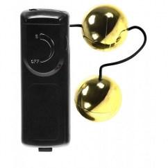 CM Bolas chinas con vibración incluida y mando para regular la intensidad de la vibración al gusto. Orgasmic Vibrating Balls