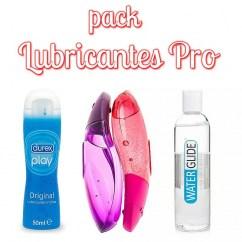CM Pack de 3 lubricantes para que tengas una noche o noches completas y nunca te falte de nada. Pack Lubricantes Pro