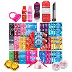 CM Anillo vibrador,lubricante para ella,lubricante fresa,lubricante 2en1aloe vera,vibrador recargable cromado,huevo TENGA para él,una gama de 118 preservativos, TOP VENTA en nuestra web. Disfruta Kit Love Boss