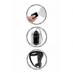 Pipedream Resistente al agua silencioso y discreto para ser usado como ropa interior. Con mando a distancia. Pantyes Vibratorios RC