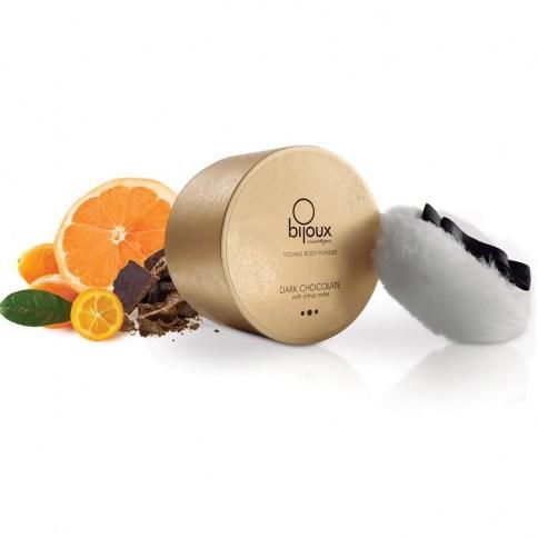 Bijoux Indiscrets Polvo con un dulce aroma y brillo que iluminará los lugares de pasión y erotismo. Polvos Chocolate 45 gr