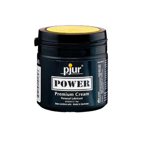 Pjur Lubricante para su placer íntimo y personal de prolongada duración. Recomendado para relaciones anales. Power 150 gr