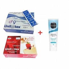 Unilatex 2 cajas unilatex y un lubricante de regalo a precios únicos. A que esperas, 288 condones pero menos de 24€. Envío incluido. 288 condones + lubricante