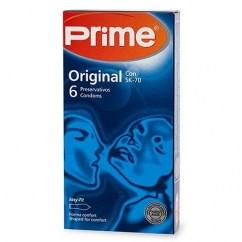 Prime Preservativo de fórmula exclusiva para la máxima sensibilidad, transparente, liso y lubricado. Condones ultra finos, más sensitivos. Sk-70 Sensitivo 6 uds