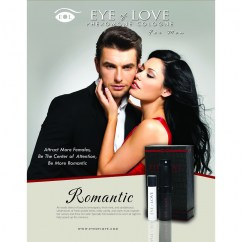 Eye of Love Perfume de feromonas de hombre, para que te acompañe a todos lados y pueda darte un pequeño empujón para que las mujeres se fijen en ti. Perfume Con Feromonas Romantic