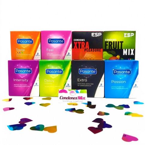 CM Nuevo!!! Descubre la gama de la prestigiosa marca britanica en este pack de 27 preservativos disfruta de la variedad! Todo ello a un precio promocional inmejorable. Pack Ahorro Pasante