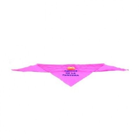 DA Pañuelo 'amigos de la pantera', color rosa, con teta. En caja de 12 unidades. (1,50 € / Ud.) Pañuelos Teta