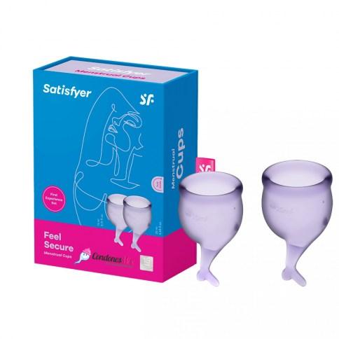 Copa feel secure kit lila 15+20 ml 0