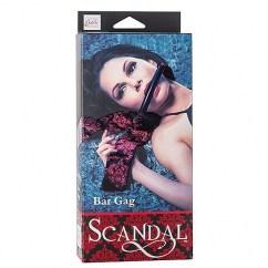 Scandal Mordaza de colección, que incorpora una tira de PVC muy cómoda de utilizar. Mordaza Bar Gag