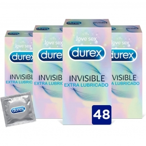 Durex invisible 48 uds 0