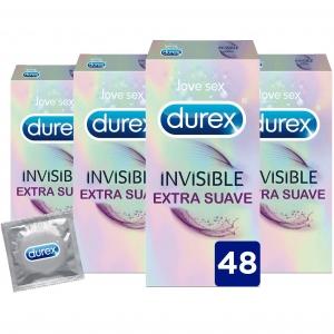 Durex invisible extra 48 uds 0