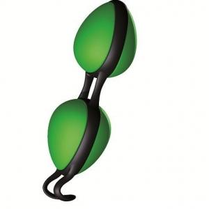Joyballs secret bolas chinas negras y verde 0