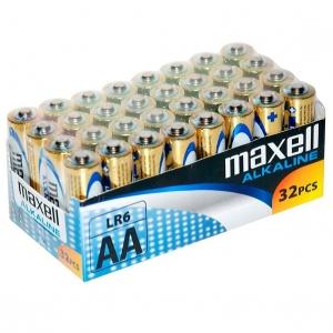 Maxell Pila Alcalina Aa LR6 32 Pilas 0