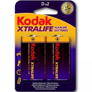 Kodak Xtralife Pilas Alcalinas D LR20 1.5V 0