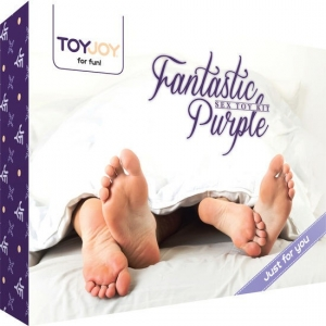 Fantastic Purple Kit De Juguetes Sexuales 0