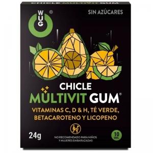 Chicle multivit gum 10 uds 0