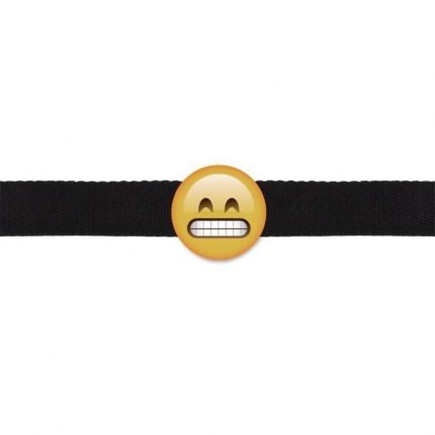 Mordaza Emoji sonriente 0