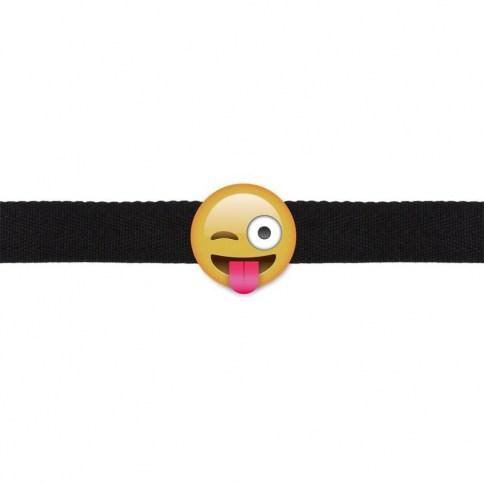 Mordaza Guiño Emoji 0