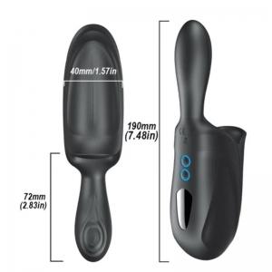 Strem Masturbador Doble Motor Doble Estimulación USB Silicona 0