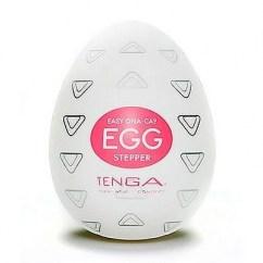 Tenga Relieve con bordes bidireccionales te realizarán un doble masaje. Hacia arriba y hacia abajo, da igual como lo pongas. Tenga Egg Stepper