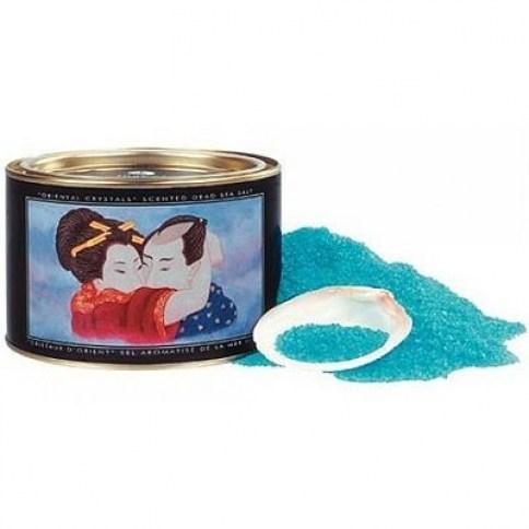 Shunga Sal de baño espumosa y aromatizada con agradable fragancia a Aphrodisia. Con propiedades curativas y regenerativas. Sales Baño Aphfrodisia