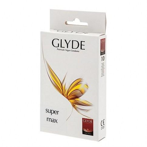 Glyde Condones talla XL, de forma recta y el doble de resistentes que los convencionales gracias a su