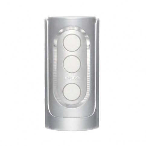 Tenga Flip Hole Silver con texturas estriadas, bordes y pliegues, para atrapar tu miembro, facilitarle una presión real y placentera. Flip Hole Silver