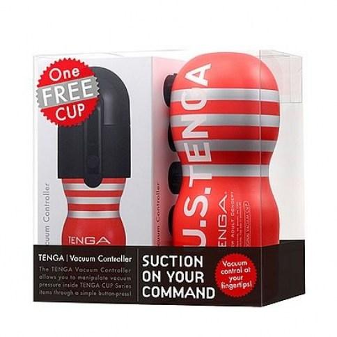 Tenga Controlador de vacío para los masturbadores Tenga, para que puedas regular la estimulación y sin utilizar tus manos. Controlador Vacío Masturbador