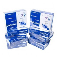 Unilatex Pack ahorro de 10 cajas de 144 condones unilatex natural 10 Cajas de 144 Unilatex