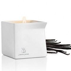 JimmyJane Vela de masaje con aroma a vainilla que dejará tu piel nueva y brillante. Vela G2 Dark Vainilla