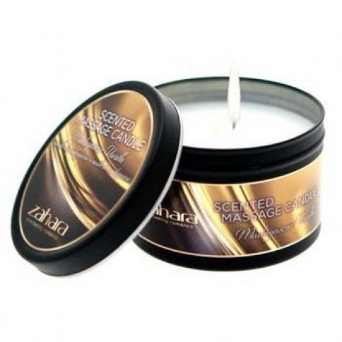 Zahara Vela que gracias a su halo de luz pondrá en tus manos el poder de la sensualidad y seducción. Aroma a Vainilla de Madagascar. Vela Vainilla de Madagascar