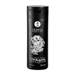 Shunga Shunga Virilidad de Dragón, crema que te aporta potencia, vigor y el máximo placer. Ademas de sensibilizar e intensifica el placer femenino en la penetración Virilidad de Dragón