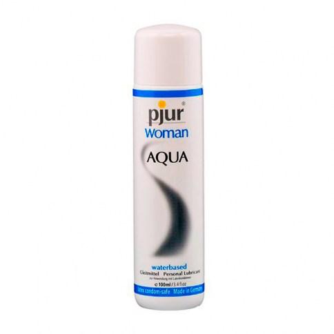 Pjur es un lubricante corporal especialmente creado para el cuidado de la piel Woman Aqua 100 ml