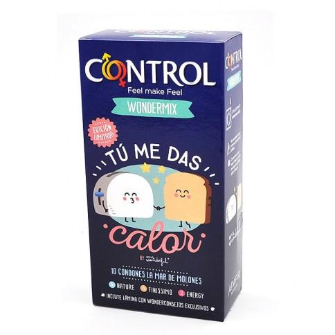 Control Control vuelve a colaborar con Mr Wonderful y crea una nueva caja con nuevas sorpresas en su interior. Edición Limitada Tu me das Calor 10 ud